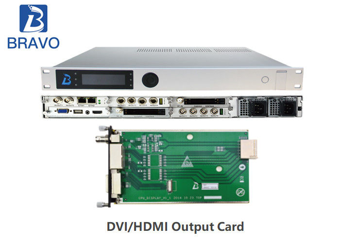 Multiformat Integrated Satellite TV Receiver Decoder BWDVBS - 8026 MPEG - 2