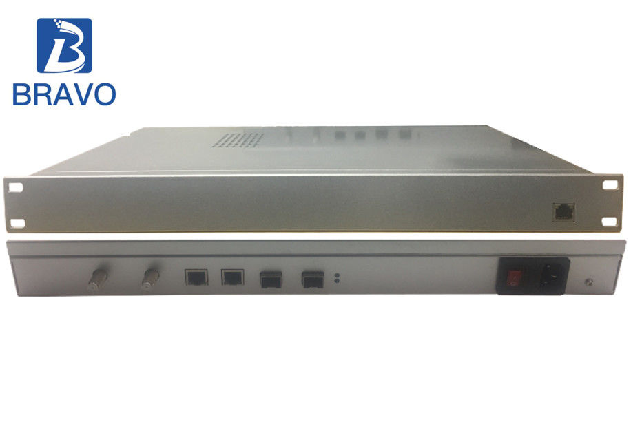 IP QAM Modulator Head End Device 48 Channels Web - Based Management System