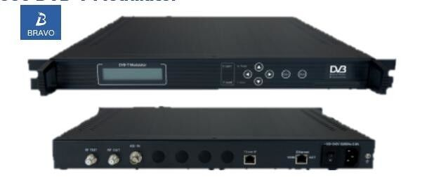 DVB-T Edge QAM Modulator BW-3000 Keyboard / Network Control Support FEC / RS Correction